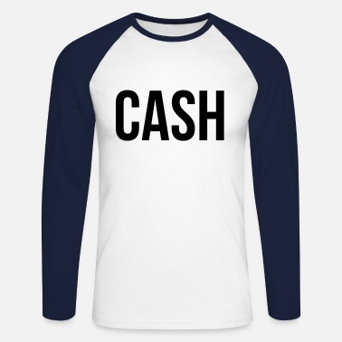 Cash Cash - Men's Long Sleeve Baseball T-Shirt