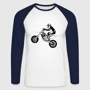 Supermoto - T-shirt baseball manches longues Homme