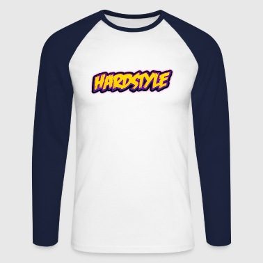 Hardstyle / Rave / Jumpstyle - Men's Long Sleeve Baseball T-Shirt