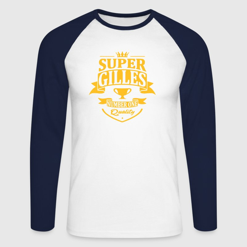 Super Gilles - T-shirt baseball manches longues Homme