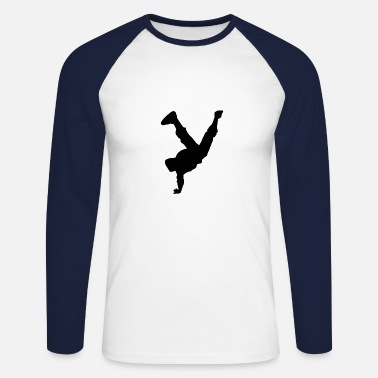 Breakdance Breakdance - Männer Baseball Langarmshirt