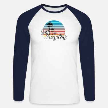 Los Angeles LOS ANGELES - T-shirt baseball manches longues Homme