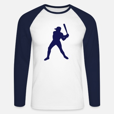 Baseball player - Men's Long Sleeve Baseball T-Shirt
