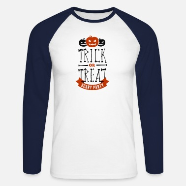 Trick Or Treat Halloween - Trick or Treat - Männer Baseballshirt langarm