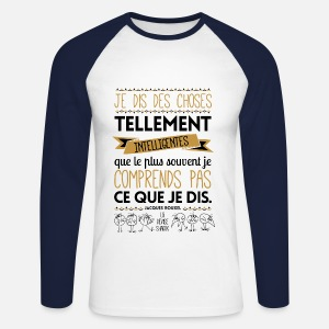 T-shirt manches longues baseball Homme