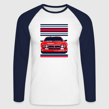 rally car - Men's Long Sleeve Baseball T-Shirt