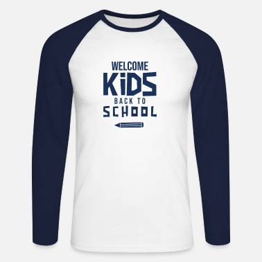 First Graders first grader - Men's Longsleeve Baseball T-Shirt