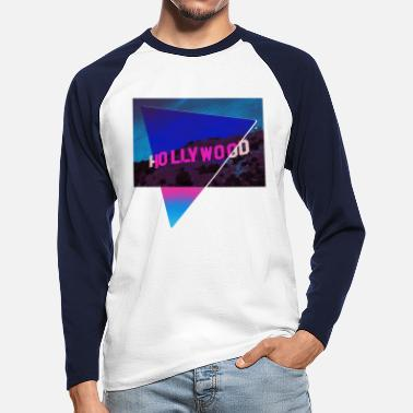 Ästhetik Design Hollywood - Männer Baseball Langarmshirt