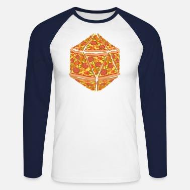 07e720f17 Pizza Dice Dungeon RPG Tabletop Gamer Gift Men's Premium T-Shirt ...