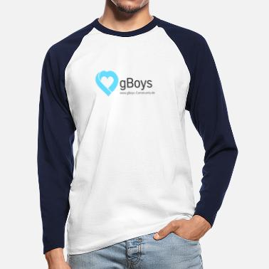 Community gBoys Community - Långärmad baseball T-shirt herr