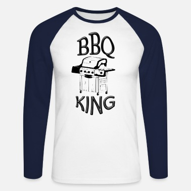 Roi Du Barbecue barbecue roi - T-shirt manches longues baseball Homme