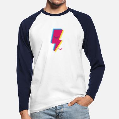 Ziggy Lighting - Männer Baseball Langarmshirt