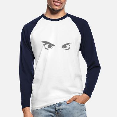 Goggley Eyes eye eyes - Men's Longsleeve Baseball T-Shirt