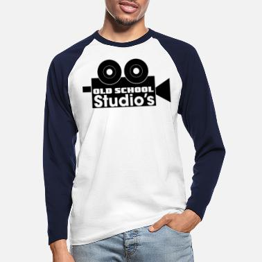 Old School Old School Studio´s - old school - Langermet baseball-T-skjorte for menn