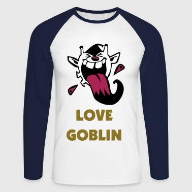 Love Goblin - Men's Long Sleeve Baseball T-Shirt