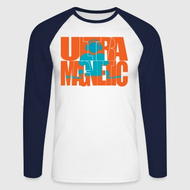 ultra magnetic - Men's Long Sleeve Baseball T-Shirt