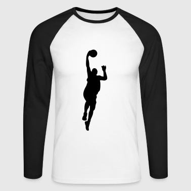 Basketball - T-shirt baseball manches longues Homme