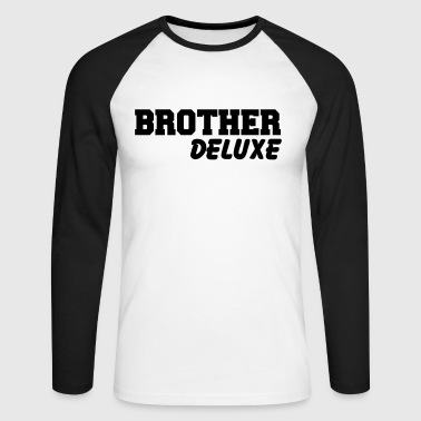 Brother Deluxe - Langermet baseball-skjorte for menn