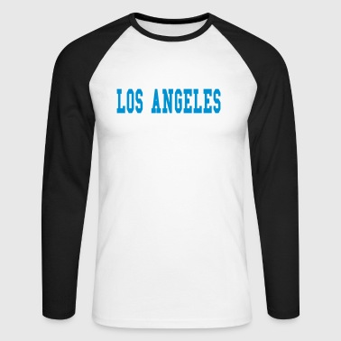 los angeles - Men's Long Sleeve Baseball T-Shirt