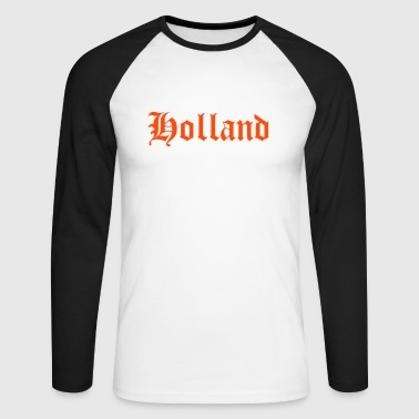 Holland - T-shirt baseball manches longues Homme