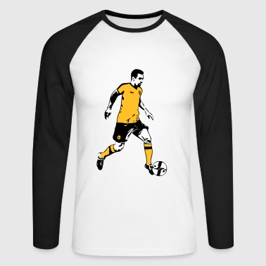 Soccer - T-shirt baseball manches longues Homme
