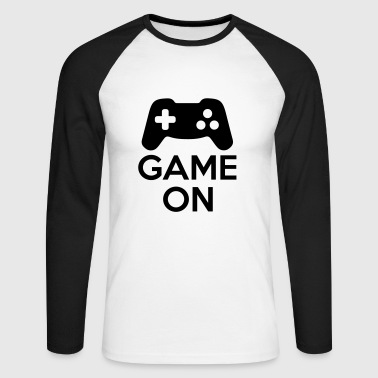 Game On - Men's Long Sleeve Baseball T-Shirt