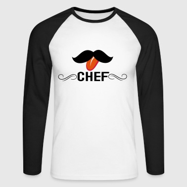chef - T-shirt baseball manches longues Homme
