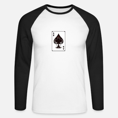 Ace Of Spades Ace of spades - Men's Long Sleeve Baseball T-Shirt