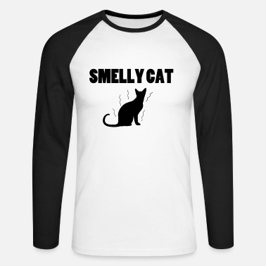 Smelly Smelly cat - Men's Long Sleeve Baseball T-Shirt