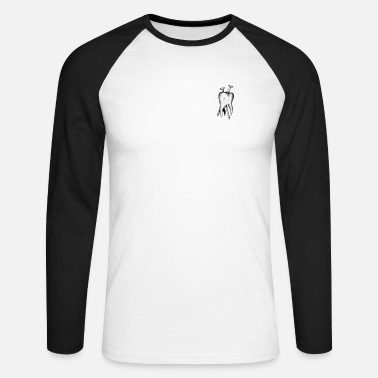 Tooth tooth - Men's Long Sleeve Baseball T-Shirt