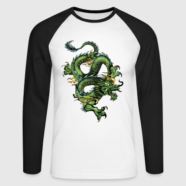 dragon chinois 202 - T-shirt baseball manches longues Homme