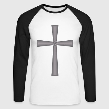 celtic cross - T-shirt baseball manches longues Homme