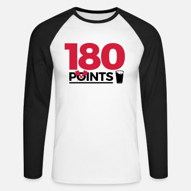 180pointspintspounds2 - Men's Long Sleeve Baseball T-Shirt