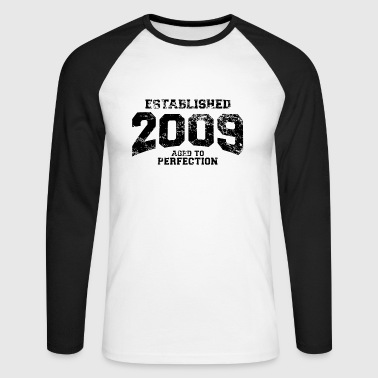 established 2009 - Männer Baseballshirt langarm