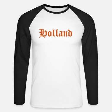 Hollande Holland - T-shirt baseball manches longues Homme