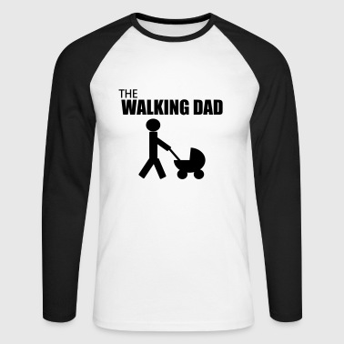 Profil the walking dad,citation,humour,parodie - T-shirt baseball manches longues Homme