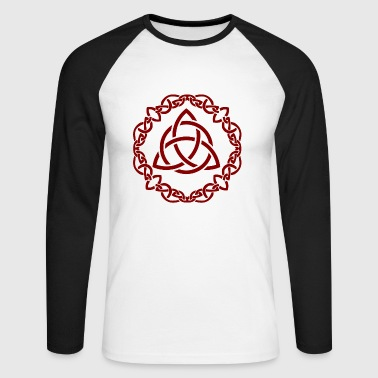 Celtic knots - Men's Long Sleeve Baseball T-Shirt