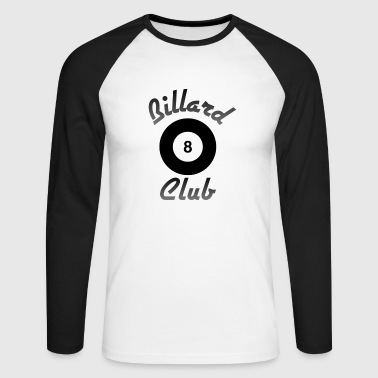 Billiards Club / Billiard Club - Men's Long Sleeve Baseball T-Shirt