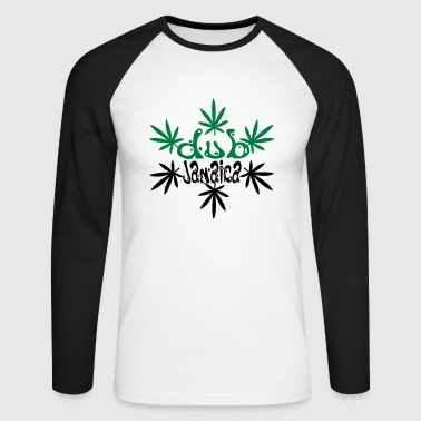 dub jamaica - Men's Long Sleeve Baseball T-Shirt
