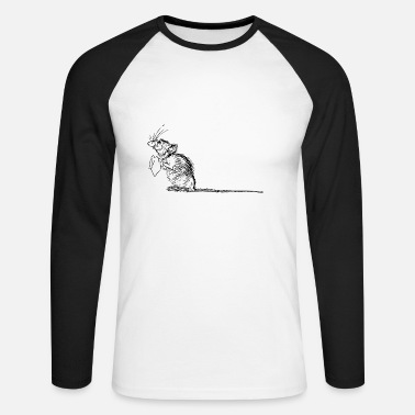 Mouse mouse - Men's Long Sleeve Baseball T-Shirt
