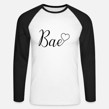 Bae Bae - Men's Long Sleeve Baseball T-Shirt