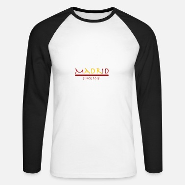 Madrid Madrid - T-shirt baseball manches longues Homme