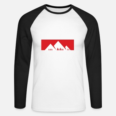 Montagne La montagne appelle - montagne, montagnes - T-shirt baseball manches longues Homme