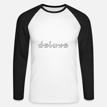 Deluxe deluxe - Men's Long Sleeve Baseball T-Shirt
