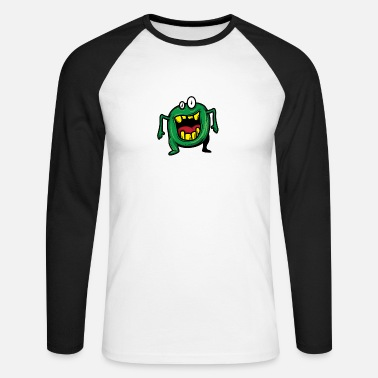 Monster monster - Men's Long Sleeve Baseball T-Shirt