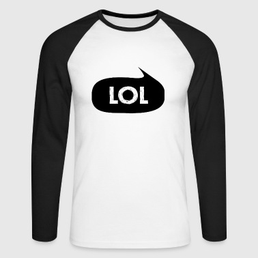 lol - T-shirt baseball manches longues Homme