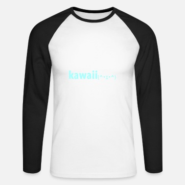 Kawaii KAWAII - Men's Long Sleeve Baseball T-Shirt