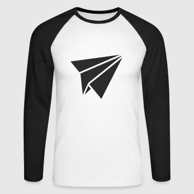 Paper Planes Paper planes - Men's Long Sleeve Baseball T-Shirt