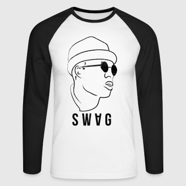 Swag Style Vintage Look - Men's Long Sleeve Baseball T-Shirt