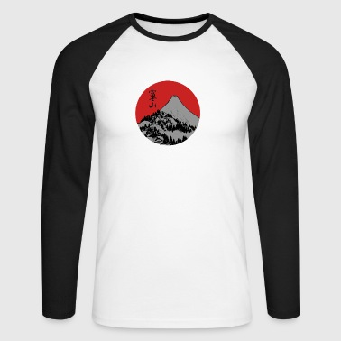 Red Dawn Fuji - T-shirt baseball manches longues Homme